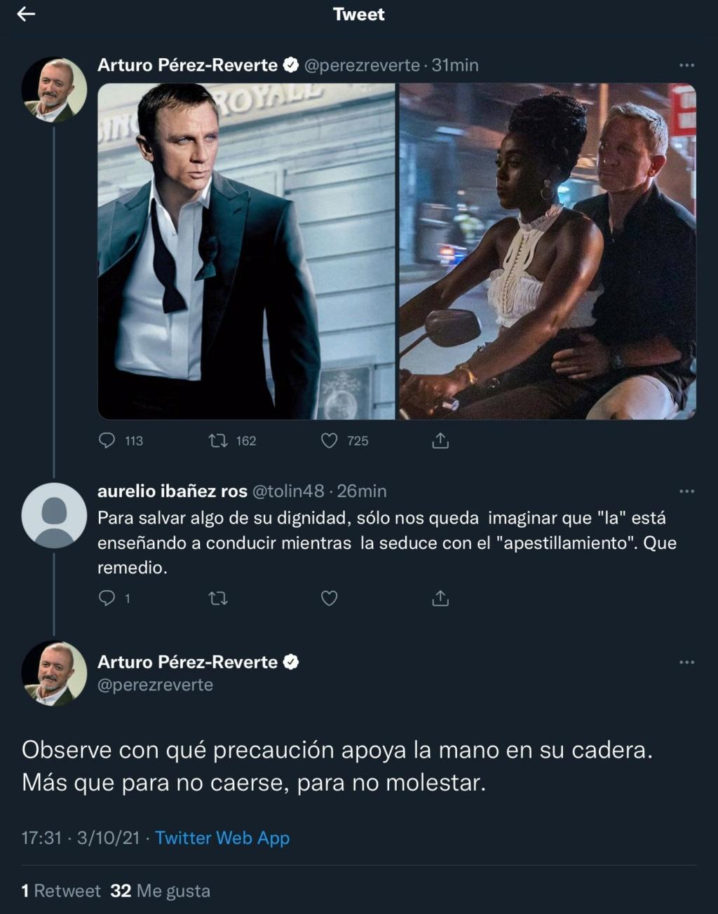 Pérez Reverte, el Chuck Norris español - Página 4 20211011