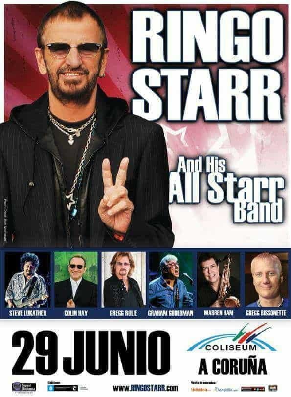 Ringo Starr quiere grabar con McCartney y Dylan Ringo10