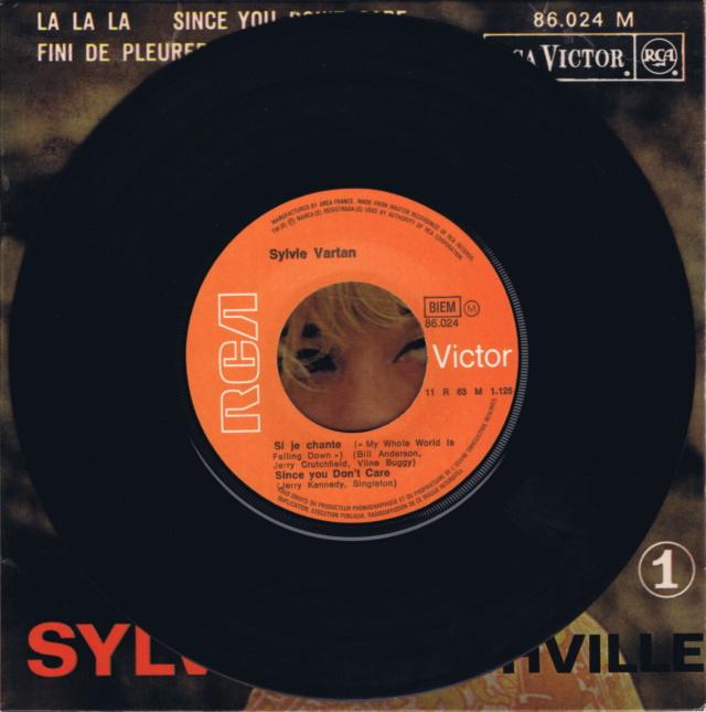 REEDITIONS DES 45 T DE SYLVIE EN LABEL ORANGE 86024_11