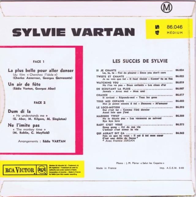 REEDITIONS DES 45 T DE SYLVIE EN LABEL ORANGE 86046_10