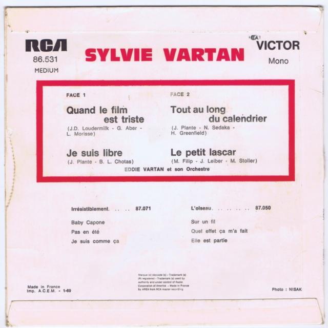 REEDITIONS DES 45 T DE SYLVIE EN LABEL ORANGE 86531_10