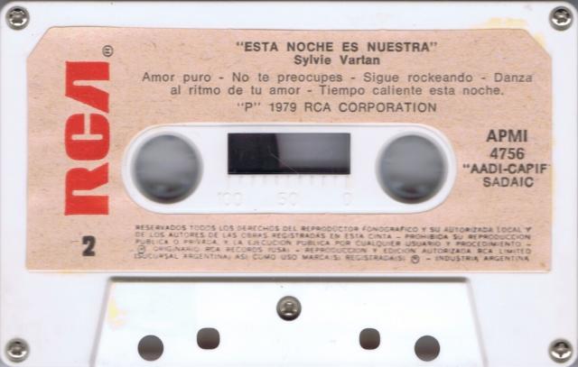 ESTA NOCHE ES NUESTRA - K7 MADE IN ARGENTINE Ark_k712