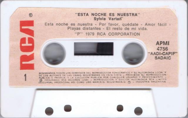 ESTA NOCHE ES NUESTRA - K7 MADE IN ARGENTINE Ark_k713