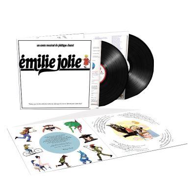 """""""EMILIE JOLIE"""" Réédition en double LP Emilie10"""