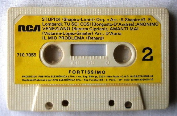Les cassettes audio Fita-k11