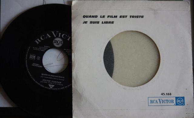 QUAND LE FILM EST TRISTE - 45 T JUKE BOX Fr_45111