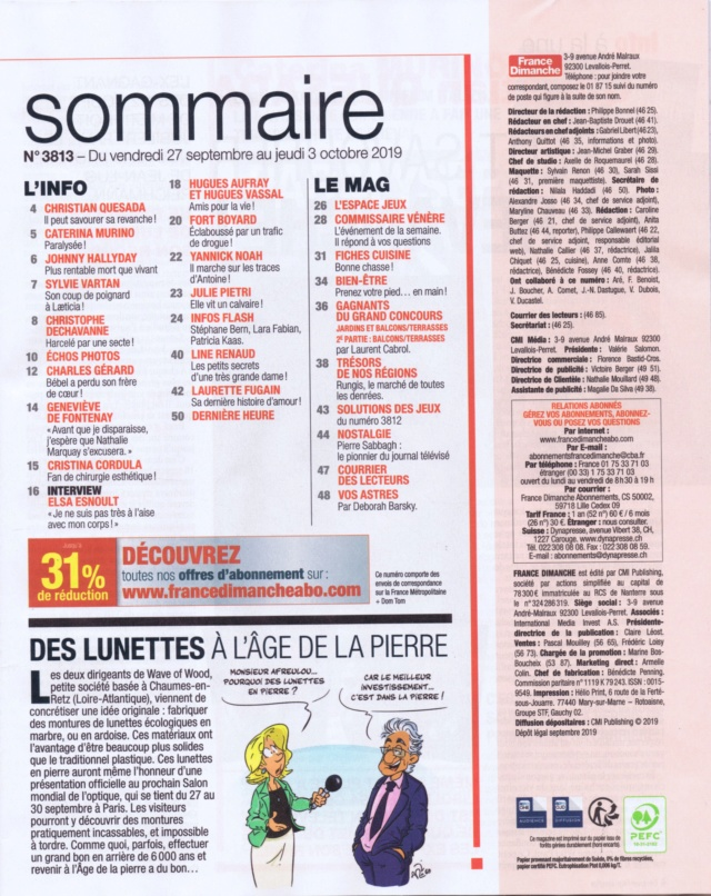 PRESSE PEOPLE - Page 5 France14