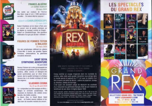 LE GRAND REX - Les souvenirs ... Scan0981