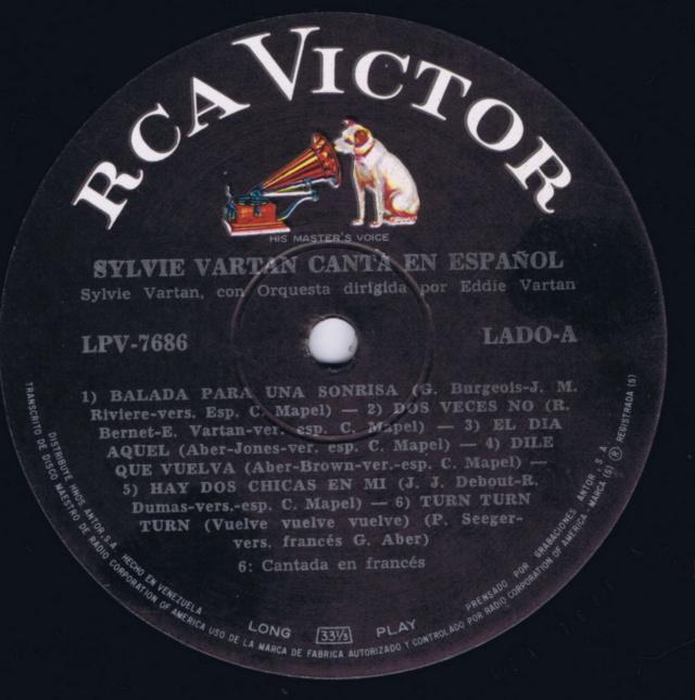 """SYLVIE """"CANTA EN ESPAÑOL"""" Ven_lp13"""