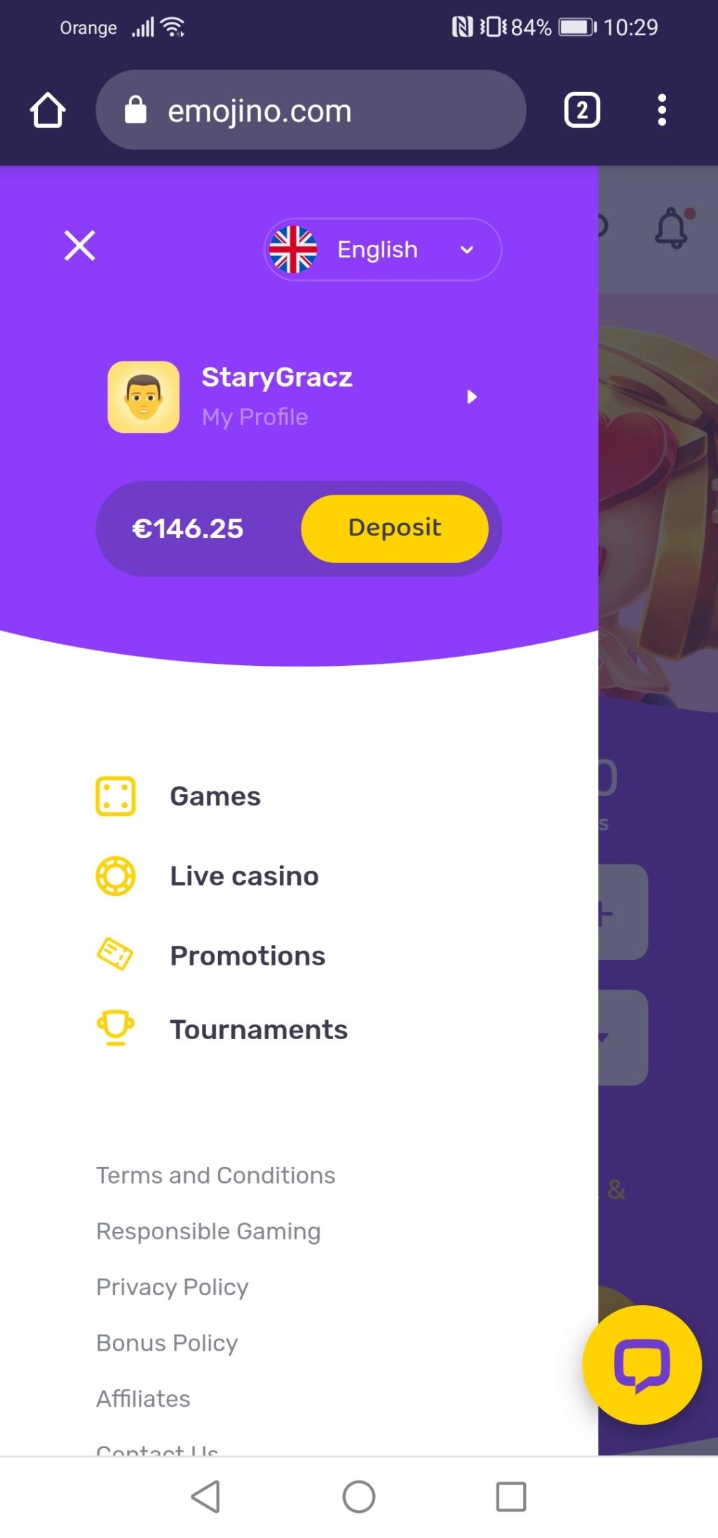 Emojino kasyno online 30 darmowych spinów z obrotem x1 Screen17