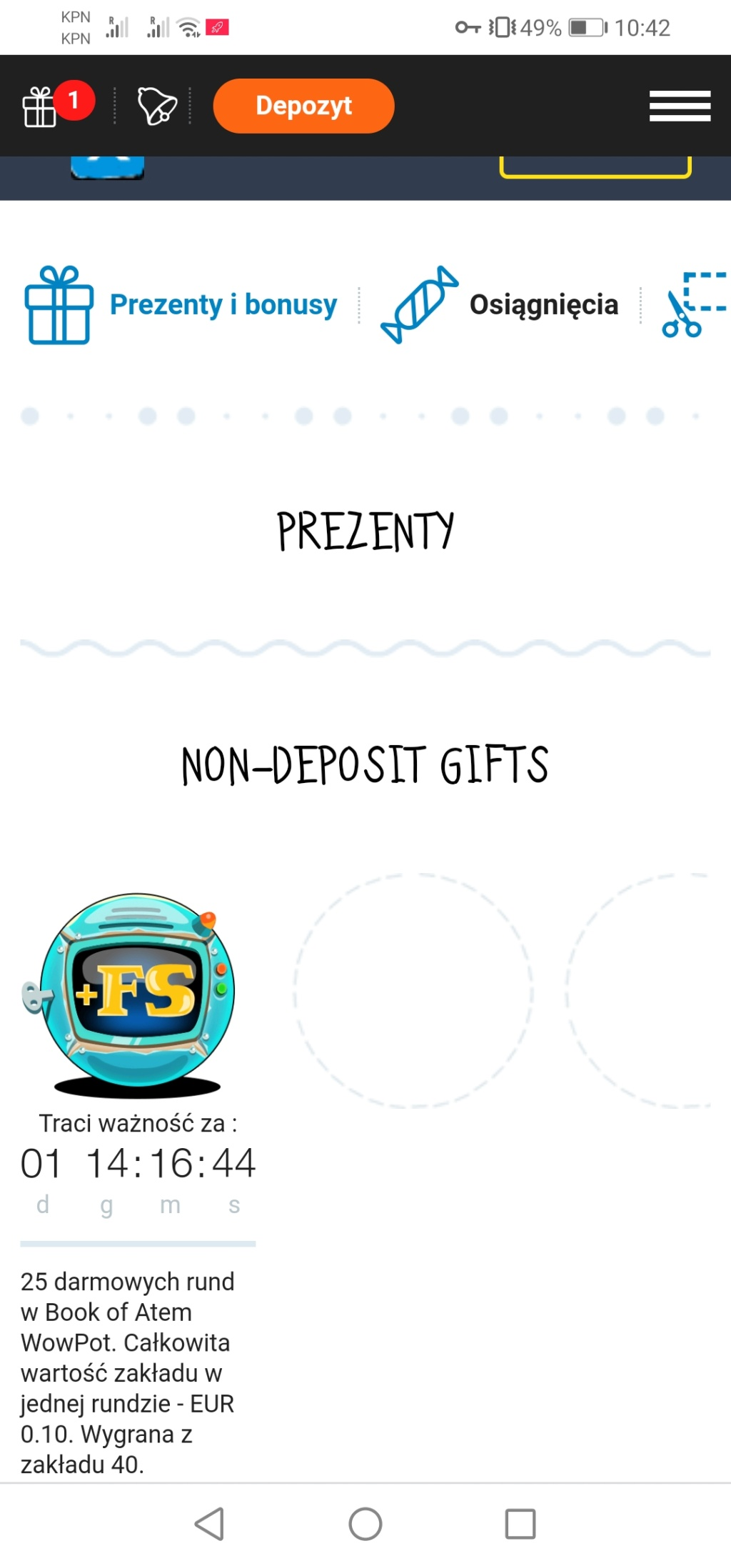 JoyCasino bonusy bez depozytu - Page 3 Screen35