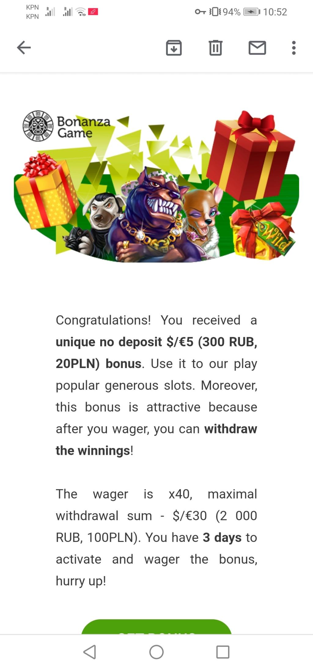 Bonanza Game Casino - darmowe promocje - Page 3 Screen36