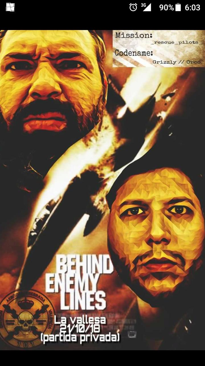 Behind enemy lines, La Vallesa 21/10/18 Screen11