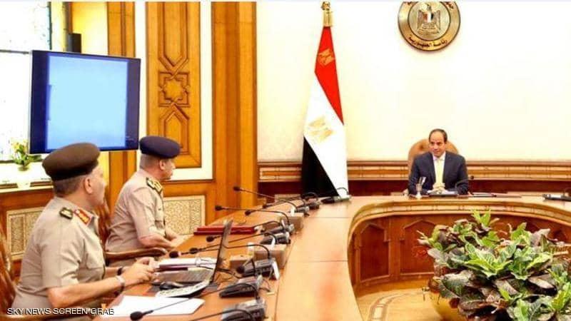 الرئيس السيسي يوجه القوات المسلحة بالجاهزية لحماية أمن مصر القومي 1-134510