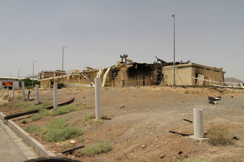وقوع حادث في محطة ناتانز لتخصيب اليورانيوم في إيران 100010