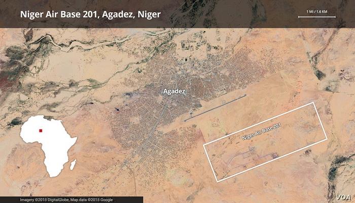 """القاعدة الجوية الأمريكية الاستطلاعية """"Air Bace-201""""في النيجر ... نمط متجدد للعمليات ضد الأرهاب. 10217710"""