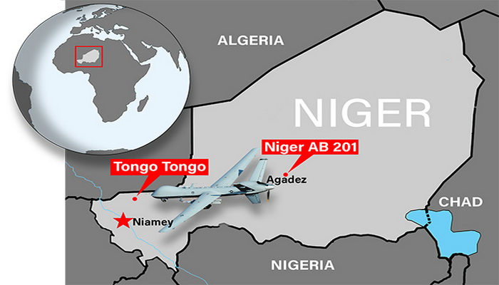 """القاعدة الجوية الأمريكية الاستطلاعية """"Air Bace-201""""في النيجر ... نمط متجدد للعمليات ضد الأرهاب. 10218610"""