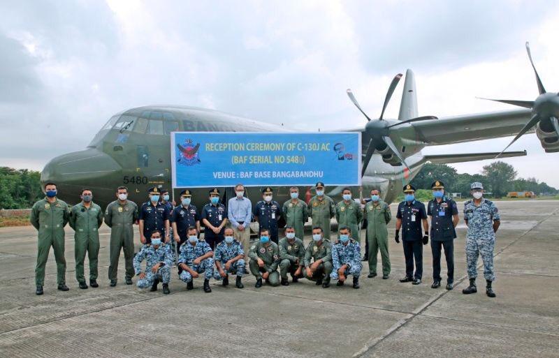 بنغلاديش ستتلقى من المملكة المتحدة خمس طائرات نقل عسكرية من طراز C-130J 11980310