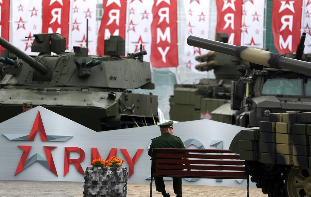 روسيا ستدعو 120 وفد اجنبي الى منتدى الجيش 2020  12368410