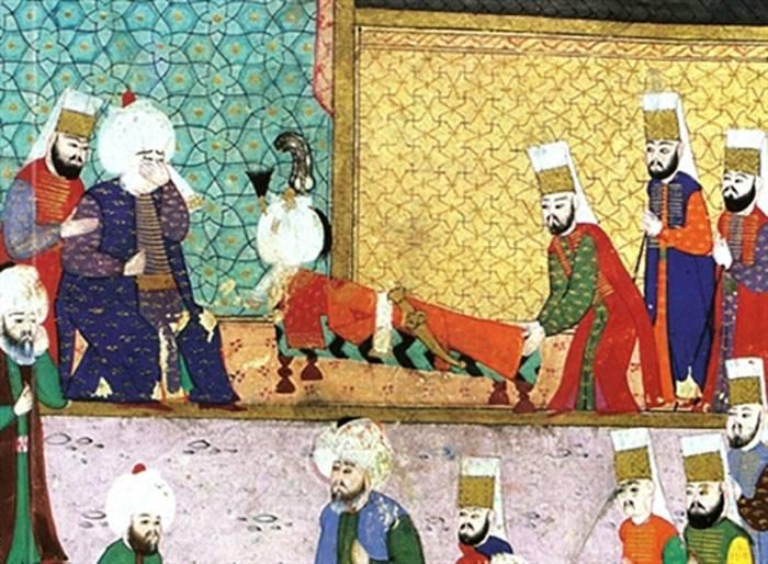 عندما لطّخ السلطان العثماني سليمان القانوني يده بدم ابنه 15419710