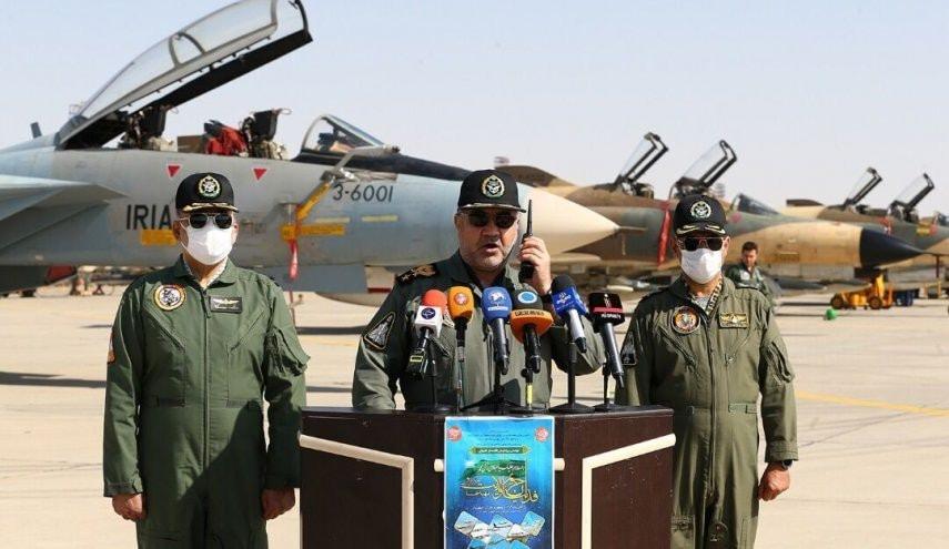"""لمواجهة التهديدات الناشئة.. إيران تجري مناورات عسكرية على """"الحرب الحديثة"""" 16042910"""