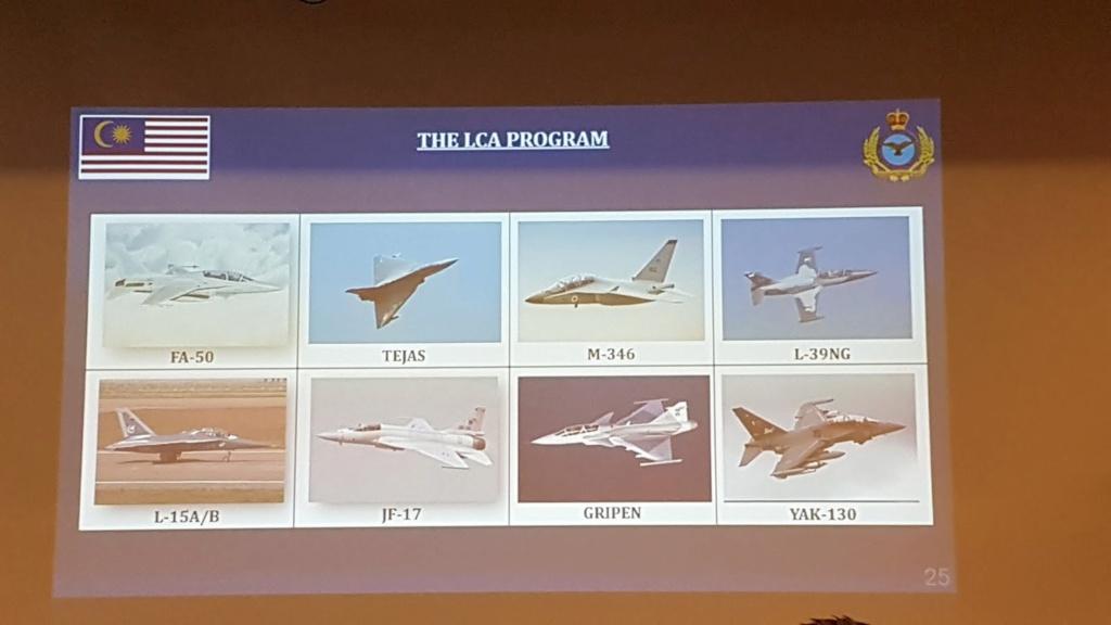 المناقصه الماليزيه للحصول على طائره مقاتله خفيفه / للتدريب المتقدم : صوت برأيك  20191110