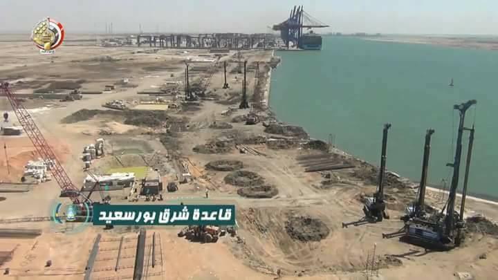 البحرية المصرية تواصل بناء ثلاث قواعد عسكرية جديدة 22853010