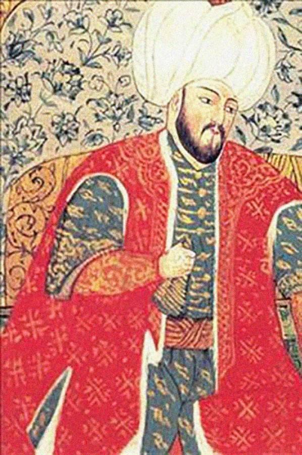 عندما لطّخ السلطان العثماني سليمان القانوني يده بدم ابنه 25006510