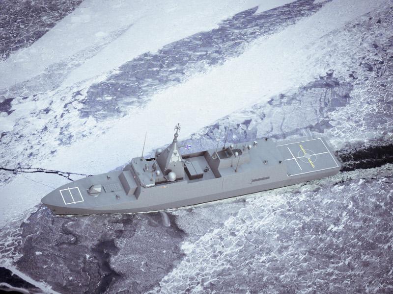 كورفيت Pohjanmaa-Class  المتعدد المهام من فنلندا  3l-ima10