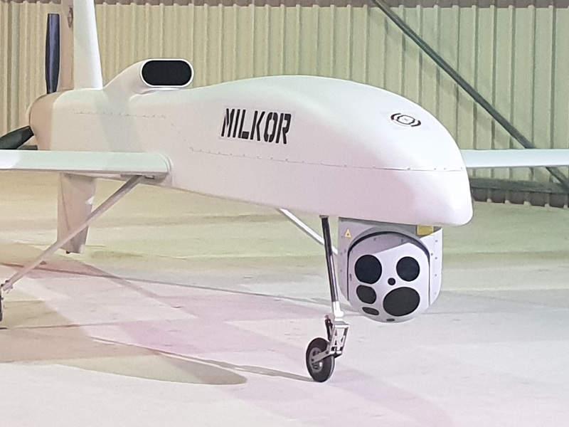 طائره MILKOR MA 380 بدون طيار من جنوب افريقيا  3l-ima13