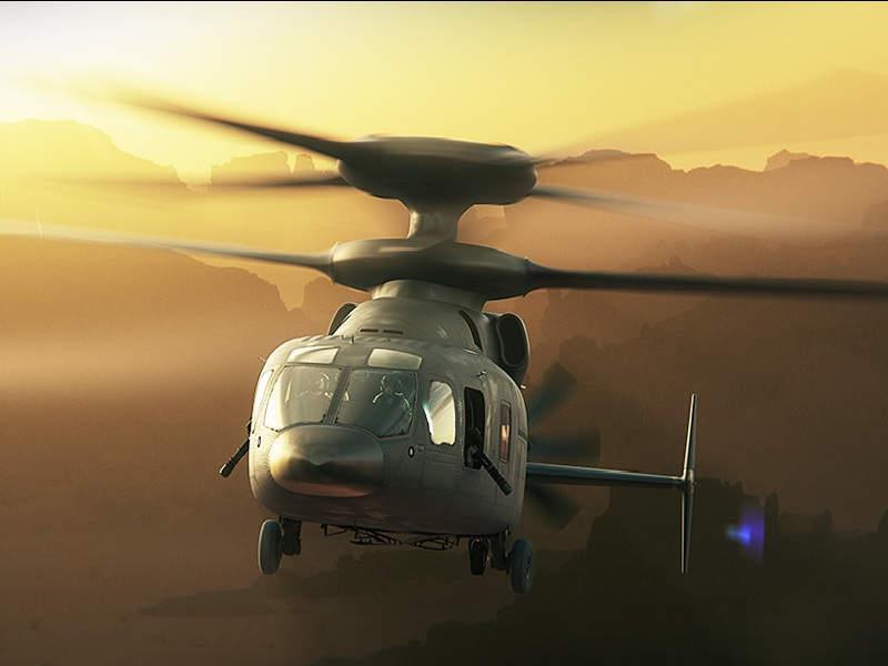 مروحية Boeing-Sikorsky SB>1 DEFIANT 3l-ima21
