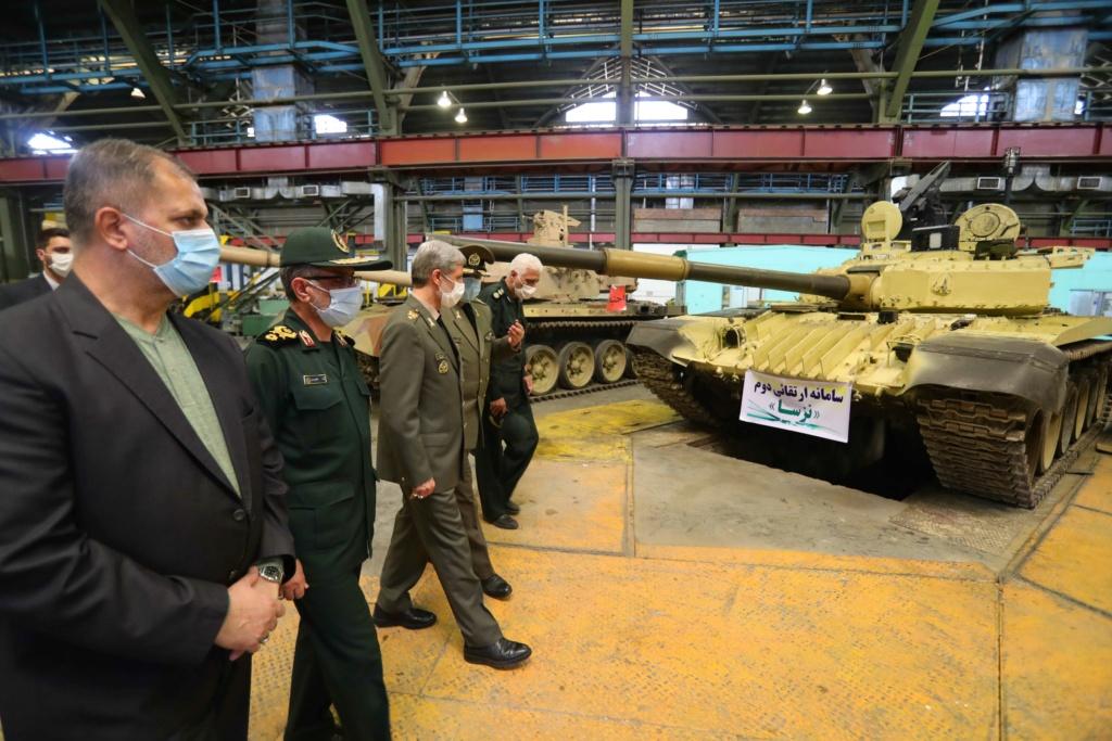 ايران تقوم بتحديث عميق لدبابات ?T-72 S الى معايير الدبابة Karrar 44042910
