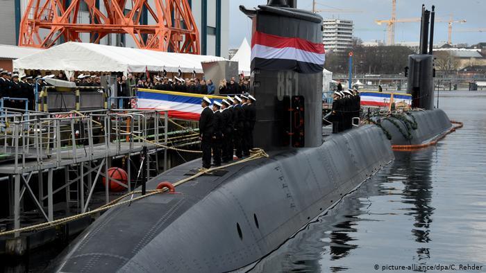 مصر استوردت سلاح بقيمة 763,7 مليون يورو من المانيا في عام 2020 46596410