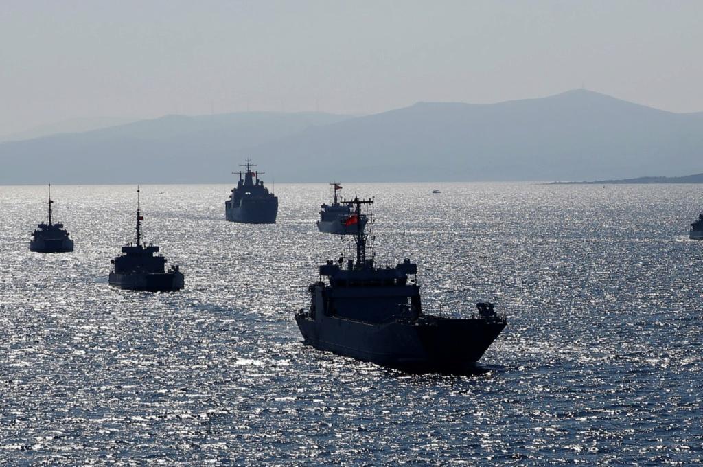 تركيا تقوي قواتها البحرية بسفن جديدة 5731010