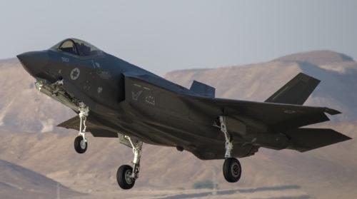 مقاتلات اسرائيلية نوع F-35 ستشارك في مناورات Blue Flag  الجوية المشتركة للمرة الأولى 59008211