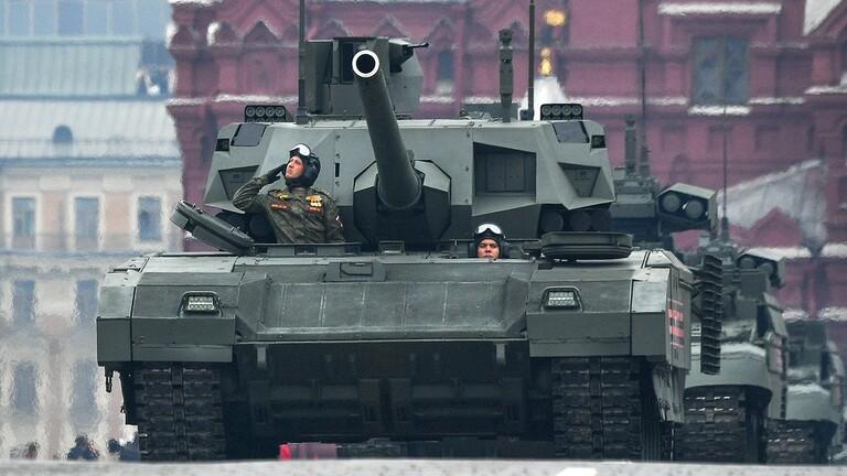 الدبابة ارماتا ( T14 ) فى مواجهه منظومة تاو الامريكية  5dcc0f10