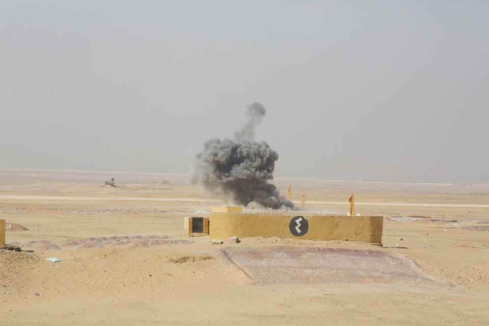 """مقاتلات """"Mig-29"""" ومروحيات """"Ka-52"""" المصرية تشن غارة جوية جماعية 75233610"""