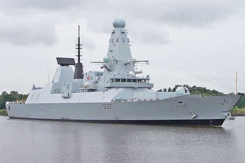 المدمرة فئة Type 45 Daring Class البريطانية 800px-17