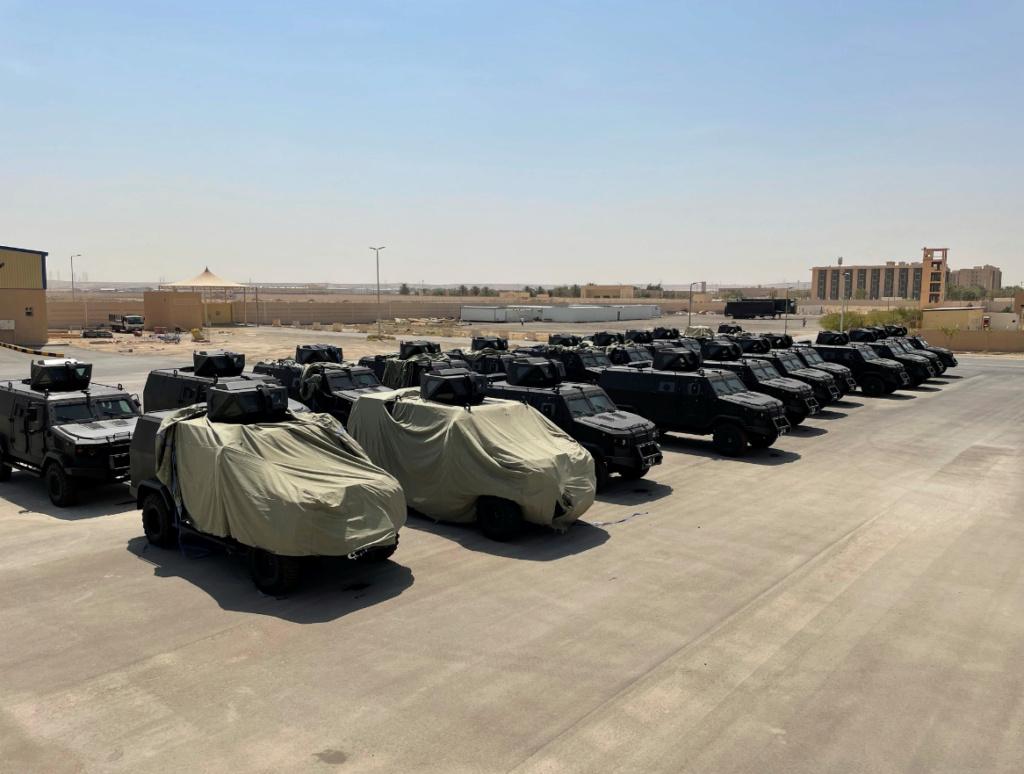 المملكة العربية السعودية  تتسلم مركبات Kozak-5 المدرعة الأوكرانية الصنع 91096210