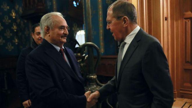 """خليفة حفتر """"يغادر موسكو"""" دون توقيع اتفاق وقف إطلاق النار _1104910"""