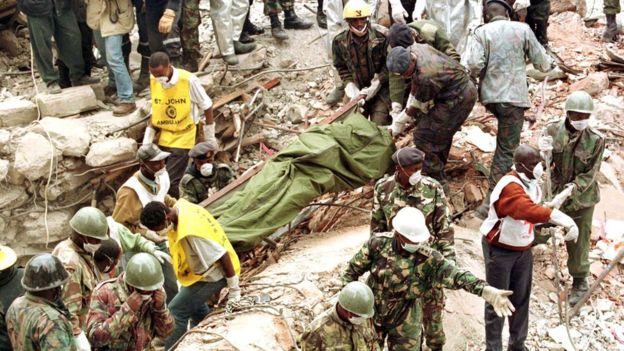 السودان يوقع اتفاقا مع ذوي ضحايا تفجير المدمرة الأميركية كول _1123510
