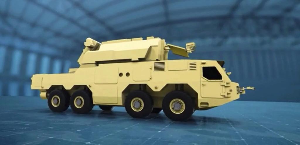 شركة كلاشنكوف الروسية تكشف عن هيل شاحنه لحمل مختلف انظمة الدفاع الجوي القصيرة والمتوسطة المدى Ae203610