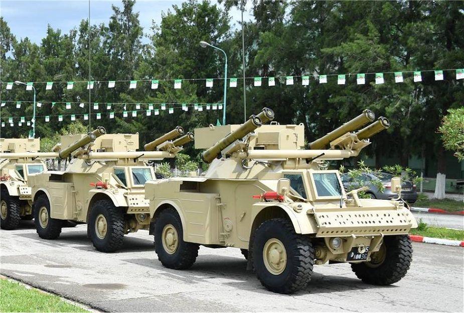 الجيش الجزائري يطور مركبة مدرعة جديدة مضادة للدبابات تعتمد على مدرعه AML الفرنسية Algeri10