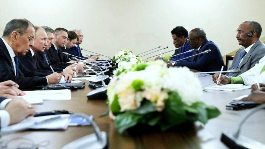 موسكو تعتزم إقامة مركز لوجستي للبحرية في السودان Arton411
