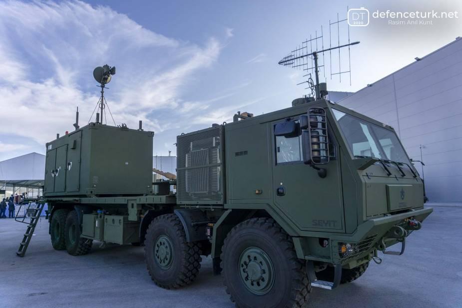 Aselsan تكمل أنظمة رادار الإنذار المبكر EIRS التركية Aselsa13