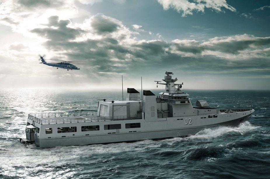 سفن الدوريات البحرية فئة Arafura Class Austra10