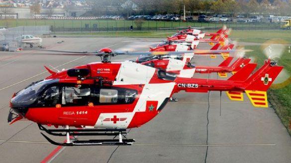 الدرك الملكي المغربي يحصل على 5 مروحيات EC145 كانت تعمل لدى الحرس الجوي السويسري للانقاذ Avion_10