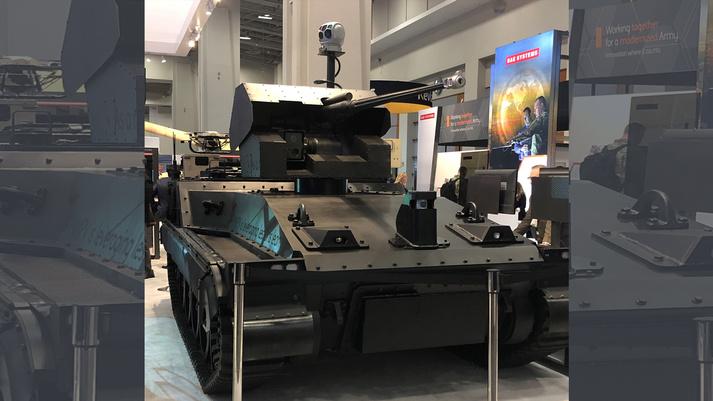 هل ستحل المركبات الأرضية غير المأهوله محل الدبابات؟ Bae-sy10