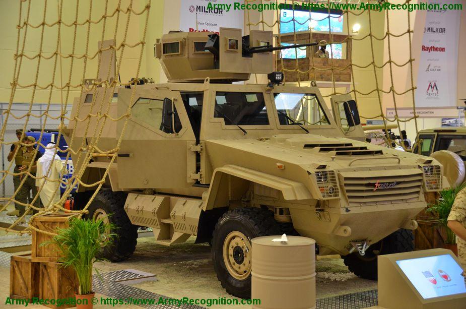 تعرف على حاملة الجند المدرعه Faisal من انتاج قوة دفاع البحرين  Bahrai10