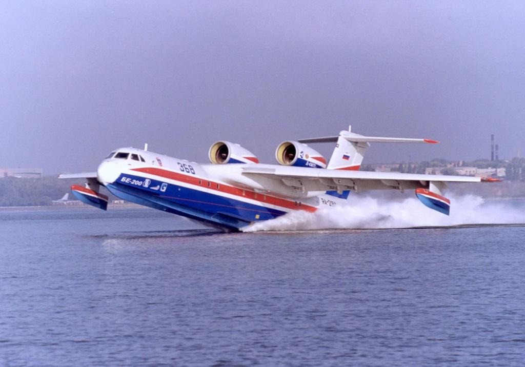 روسيا تعرض على مصر بيعها طائرات Beriev Be-200 البرمائيه  Beriev10